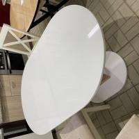 Монреаль Тип-1 Стол обеденный (Белый глянец/моод темный)